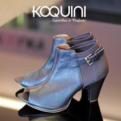 Que charme de peeptoe ankleboot, você vai quer um #koquini #sapatilhas #euquero #ankleboot by #cristofoli Compre Online: http://koqu.in/1JkP6vF