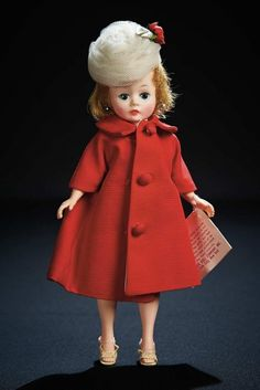 The Robert Tonner Collection: 280 Cissette with Stylish Red Coat and Sheath Dress in Original Box by Madame Alexander Antique Dolls, Vintage Dolls, Forever My Girl, Gotz Dolls, Madame Alexander Dolls, Bear Doll, Dollhouse Dolls, Doll Accessories, Beautiful Dolls