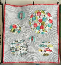 quilt made with str