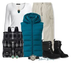 """""""A Hiking We Will Go"""" by jayhawkmommy on Polyvore featuring Isabella Oliver, Uniqlo, Proenza Schouler, Fornash and BCBGMAXAZRIA"""