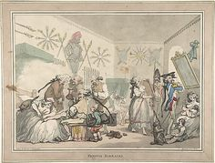 French Barracks  Thomas Rowlandson (British, London 1757–1827 London)…