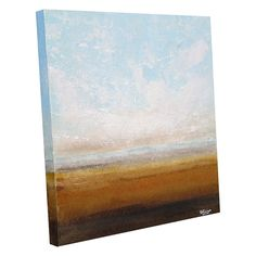 Cornfields  original summer landscape painting on by simonsgallery, $95.00
