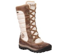 Timberland Earthkeepers Mount Holly Tall Lace Duck Boot in Taupe/Brown (perfect for this Minnesota weather)