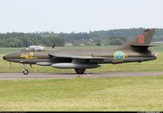 Swedish Air Force (Flygvapnet) Hawker Hunter F58A