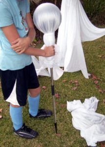 How to Make an Outdoor Halloween Decorations Ghost