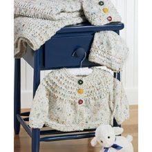 Knit Baby Set