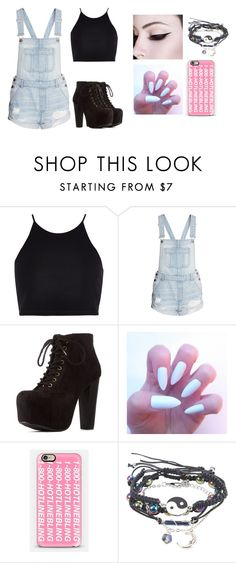 """""""Magcon outfit #3"""" by jasmine-the-basic-penguin ❤ liked on Polyvore featuring River Island, Charlotte Russe and Casetify"""
