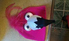 Halloween costume flamingo hat