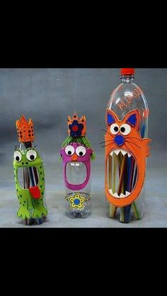 That's what You can do with empty bottles