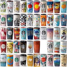 Starbucks 2016 US City double wall ceramic tumbler
