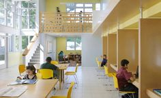Community Learning Center | Abacus Architects + Planners; Photo: Chuck Choi | Bustler