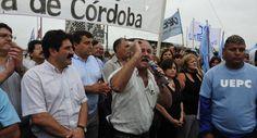 Paro de docentes en Córdoba continúa