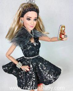 """Fedora Abdala @tatawerneck """"Haja Coração"""". #tatawerneck #boneca #marcusbaby #hajacoração #hajacoracao #doll"""