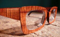 Custom wooden glasses