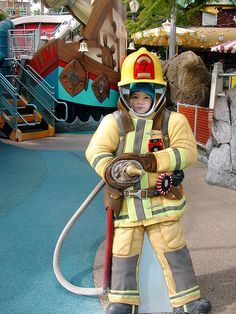 Go firefighter Disneyland, LA | Flickr - Photo Sharing!
