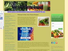 Our site contains over 200 juice cleanse recipes and an abundance of general juicing and juice cleansing info to help you succeed on your juicing journey! Raw Juice Cleanse, Juice Cleanse Recipes, Healthy Juice Recipes, Fast Healthy Meals, Healthy Juices, Healthy Drinks, How To Stay Healthy, Healthy Eating, Vegan Meals