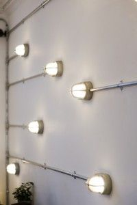 Great idea for feature wall....dimmer switches required!