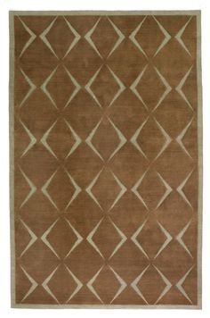 Diamonds by Neisha Crosland | Wool Contemporary hand-knotted designer rugs