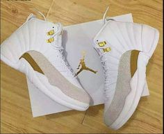 Shop OVO x Air Jordan 12 Retro 'White' - Air Jordan on GOAT. We guarantee authenticity on every sneaker purchase or your money back. Air Jordan 12 Retro, Jordan 12 Ovo, Jordan 12 White, Nike Jordan 12, Jordan 12s, Jordan Swag, Jordan Shoes Girls, Air Jordan Shoes, Girls Shoes