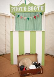 A Photo Booth is a great source of fun for fetes,street or garden parties.