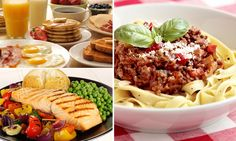 Two hearty meals each day better for you than 6 snacks: Eating a big breakfast and lunch helps control weight and blood sugar levels - Breakfast Ideas 6 Meals A Day, Blood Sugar Levels, Small Meals, Cobb Salad, Healthy Eating, Healthy Food, Wellness, Lunch, Healthy Recipes