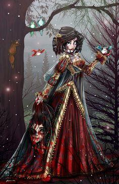 Twisted Snow White by NoFlutter.deviantart.com on @DeviantArt