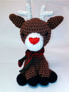 Baby Reindeer PDF Pattern by PeachyPerfections on Etsy, $2.50