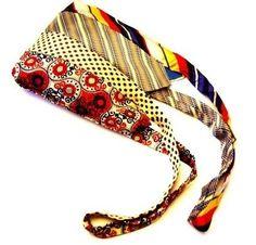 reusing men's ties | Great idea for reusing ties