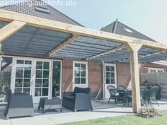 Pergola Terrasse Etage - Rusted Steel Pergola - Pergola Bioclimatique En Angle - - Pergola Deck Attached To House - Pergola Patio Dining Diy Pergola, Cedar Pergola, Pergola Carport, Retractable Pergola, Steel Pergola, Building A Pergola, Corner Pergola, Pergola Canopy, Gazebo