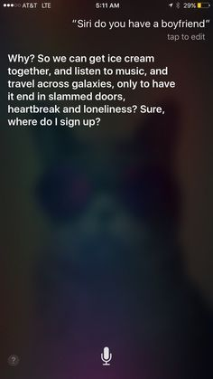 When she wasn't in the mood: | 21 Times Siri Was Sick Of Dealing With Our Shit