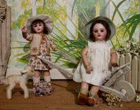 Exposition sur le centennaire des poupées de La Semaine de SuzetteLe Musée de la Poupée Paris - poupées cultes, poupées anciennes, poupées de collection