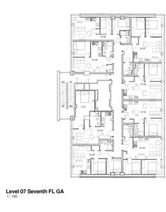 Seventh Floorplan