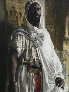 Moors Renaissance This is more of the anti-Western anti-Catholic pap that is vomited from the mouths of radical professors. The slave-trading, sexist Moors brought Europe out of a Dark Ages that was in fact more enlightened than today's age. Black History Facts, Black History Month, Strange History, We Are The World, In This World, Black Art, Jean Leon, Out Of The Dark, By Any Means Necessary