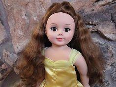 Madame-Alexander-2004-18-Doll-Brown-Eyes-Brown-Hair-Disney-Belle