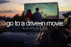 Drive in movies are the best ♥ check!