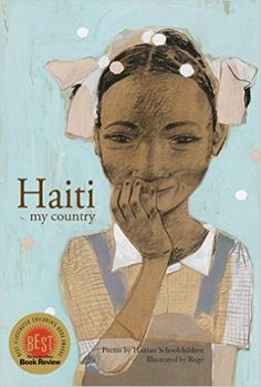 Pretty flowers in my country are for me Like pink butterflies That smile at the sun Judes-Roldes For several months, Quebec illustrator Roge prepared a series of portraits of Haitian children.
