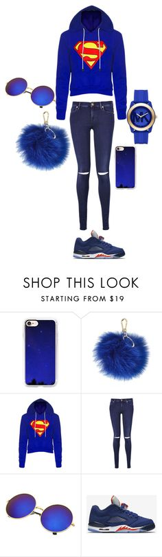 """i love my cousin"" by kaliayh-butler on Polyvore featuring Casetify, Furla, 7 For All Mankind, NIKE and Michael Kors"