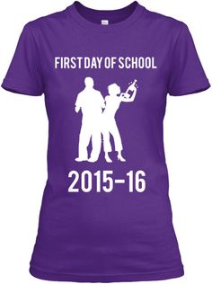 MOMS FIRST DAY OF SCHOOL SHIRT