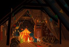 Living Lines Library: Coraline - Visual Development Coraline Art, Coraline Jones, Environment Concept, Environment Design, Laika Studios, Visual Development, Environmental Art, Stop Motion, Art Day