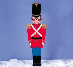 Giant Toy Soldier Woodcraft Pattern Display this Giant Toy Solidier with your Christmas Yard Display or have him stand guard at the door way. Christmas Yard Art, Easy Christmas Crafts, Christmas Makes, Christmas Wood, Outdoor Christmas Decorations, Simple Christmas, All Things Christmas, Office Decorations, Christmas Projects
