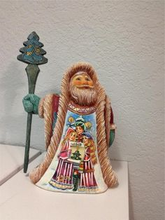 G DeBrekht Derevo Collection Melody of Christmas Santa 900 Pc Ltd Edition 532322 #GDeBrekht