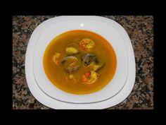 SOPA DE MARISCO PARA NAVIDAD SENCILLA - YouTube Sopa De Mariscos dd7bc1b931c