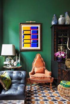 In beeld: Het eclectische interieur van Gerald Watelet