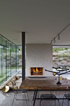 fearon hay modern house design architecture...I like the mix of old and new, metal, glass, and wood.