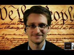 ▶ Snowden's first live: 'Constitution being violated on massive scale' (FULL VIDEO) - YouTube