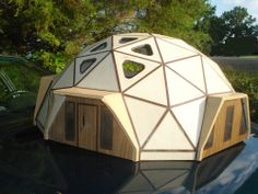 Geodesic Dome Residence - Architectural Model