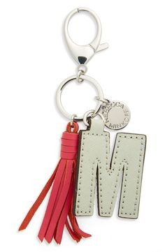 Add a personal touch to your look with these fun Rebecca Minkoff leather initial charms.