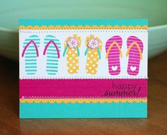 Great flip flop inspiration from Leigh!