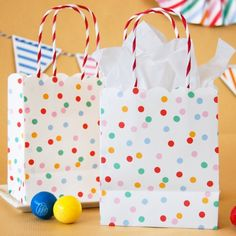 Toot Sweet Spotty Party Bags by Beau-coup
