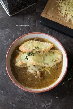 Zwiebelsuppe nach Jamie Oliver